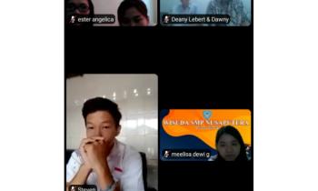 Wisuda online SMP Nusaputera tahun ajaran 2020/2021